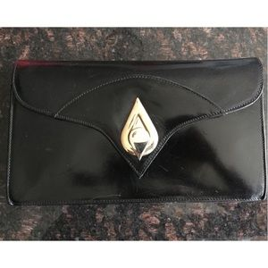 Vintage Bloomingdales Leather Clutch